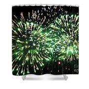 Fireworks Number 4 Shower Curtain