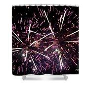 Fireworks Number 5 Shower Curtain