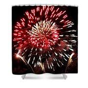 Fireworks Number 6 Shower Curtain