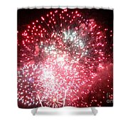 Fireworks Number 7 Shower Curtain