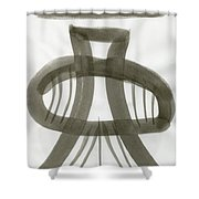 Firm Stance Shower Curtain