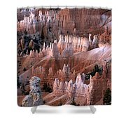First Light In Bryce Canyon Shower Curtain