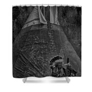 First Nation Station  Shower Curtain