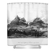 First Opium War, 1841 Shower Curtain