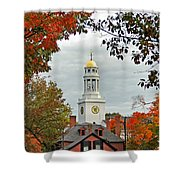 First Parish Church Shower Curtain