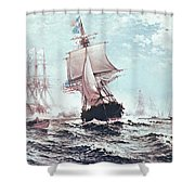 First Recognition Of The Stars And Stripes Shower Curtain