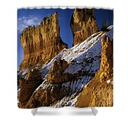 First Snow At Bryce Canyon Shower Curtain