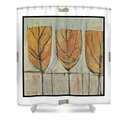 First Snow Graphic Shower Curtain
