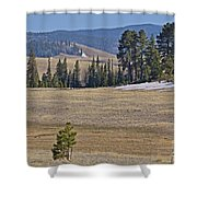 Fish Creek Valley Shower Curtain