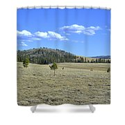 Fish Creek Valley II Shower Curtain
