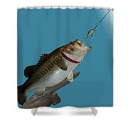 Fish Mount Set 13 A Shower Curtain