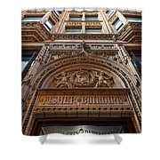 Fisher Building Chicago Shower Curtain