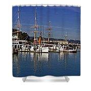 Fisherman's Wharf Shower Curtain