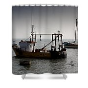 Fishing Boat Essex Shower Curtain