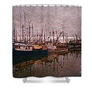 Fishing Boats Of Steveston-ca Shower Curtain