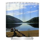 Fishing Conkle Lake Shower Curtain