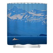 Fishing The Inside Passage Shower Curtain