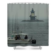Fishing Weather Shower Curtain