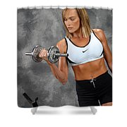 Fitness 5 Shower Curtain