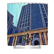 Five Hundred Boylston - Boston Architecture Shower Curtain