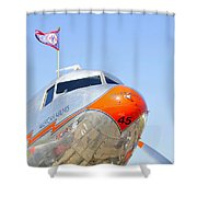 Flagship Detroit Work Number One Shower Curtain