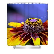 Flakes Of Pollen Shower Curtain
