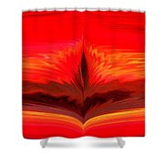 Flame 3 Shower Curtain