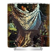 Flamenco Series No 1 Shower Curtain