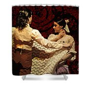 Flamenco Series No 3 Shower Curtain