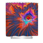 Flames Shower Curtain