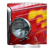 Flaming Hot Rod 2 Shower Curtain
