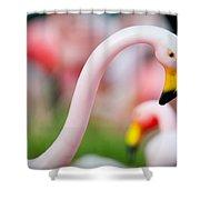 Flamingo 5 Shower Curtain