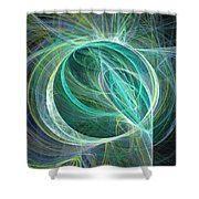Flares Shower Curtain