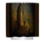 Flatiron Building...my View..revised Shower Curtain