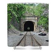 Flatrock Tunnel Shower Curtain