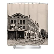 Fleetwood Autobody Factory Shower Curtain