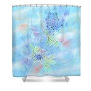 Fleur De Fantasm Shower Curtain