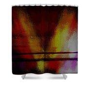 Floating Brush Shower Curtain