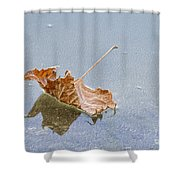 Floating Down Lifes Path 2 Shower Curtain