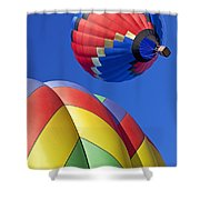 Floating High Shower Curtain