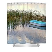 Floating In Clouds Shower Curtain