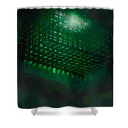 Flood Light Shower Curtain