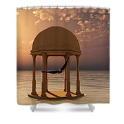 Flooded Dreams Shower Curtain