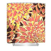 Floral Abstraction 18 Shower Curtain