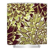 Floral Abstraction 19 Shower Curtain