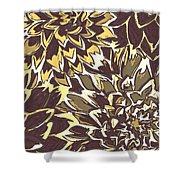 Floral Abstraction 21 Shower Curtain