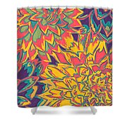 Floral Abstraction 22 Shower Curtain