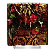 Floral Antique Shower Curtain
