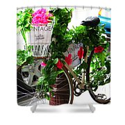 Floral Delivery Shower Curtain