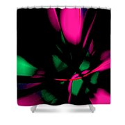 Floral Ecstasy II Shower Curtain